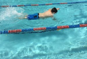 Swimming for exercise