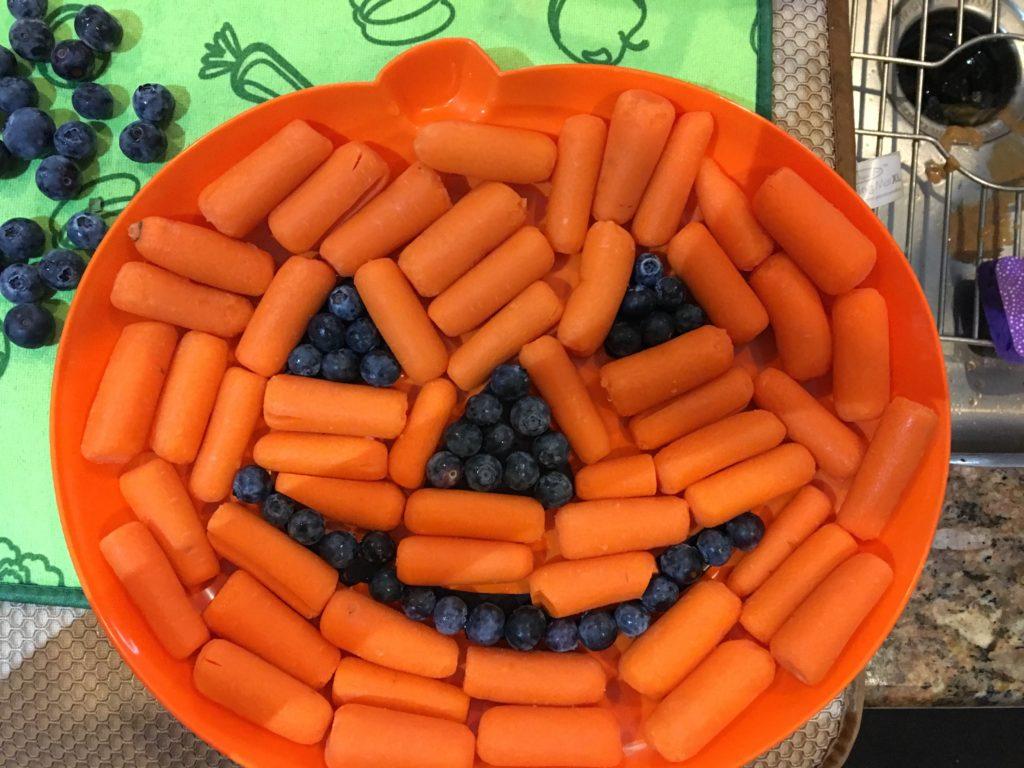 Carrot and Blueberry Pumpkin